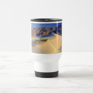 HDR Death valley sand dunes Travel Mug