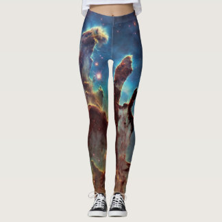 HDR Eagle Nebula Pillars of Creation Leggings
