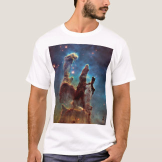 HDR Eagle Nebula Pillars of Creation T-Shirt