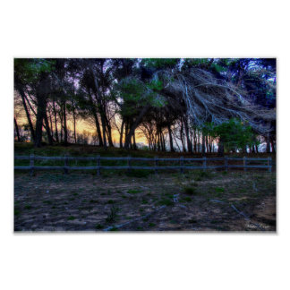 HDR Winter in Gallipoli Beach Poster