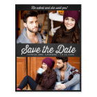 He asked, and she said yes! Save the Date Postcard