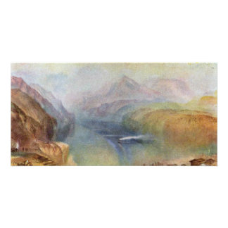 he Bay Of Baia With Apollo And The Sibyl By Turner Customized Photo Card