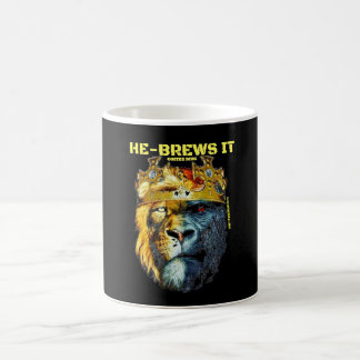 He-Brews It Coffee Mug
