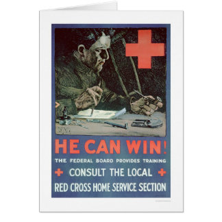 He Can Win! (US00233) Greeting Card