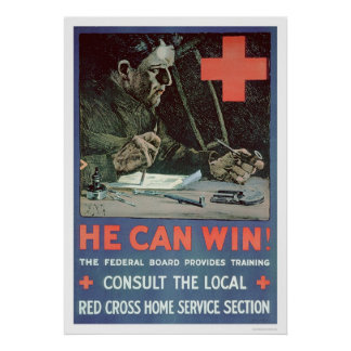 He Can Win! (US00233) Poster