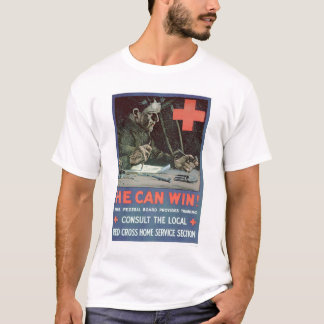 He Can Win! (US00233) T-Shirt