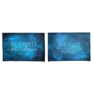 He Counts the Stars Pillowcase