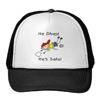 He Dives He's Safe Cap