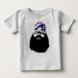 He had a full natural beard. baby T-Shirt