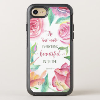 He Has Made Everything Beautiful Ecclesiastes 3:11 OtterBox Symmetry iPhone 7 Case