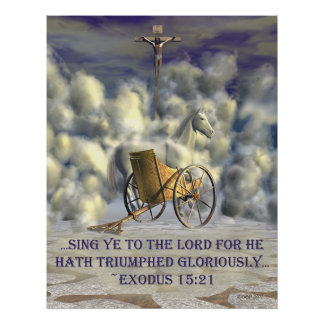 He Hath Triumphed Poster
