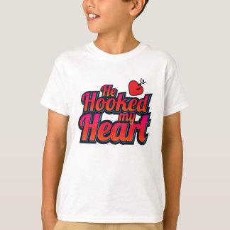 He Hooked My Heart T-Shirt
