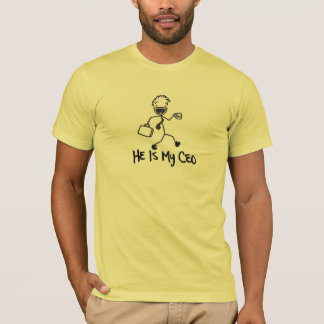"""He Is My CEO"" by He Fuels Me™ T-Shirt"
