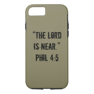 """He is Near"" Iphone 7 Tough Phone Case"