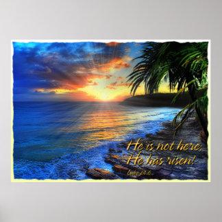 He is not here; He has risen! Luke 24:6 Print