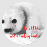 He Is Real! Round Sticker