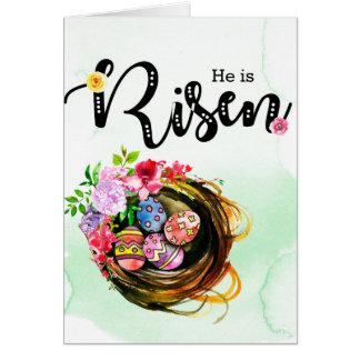 He is Risen Card