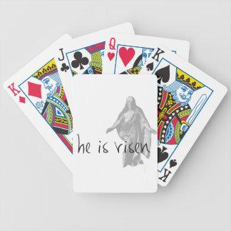 he is risen jesus christ easter lds mormon poker deck