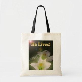 He Lives Bag