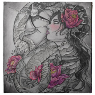 He loved her the mostUntitled_Artwork Napkin