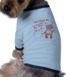 He Loves Me Ringer Dog Shirt