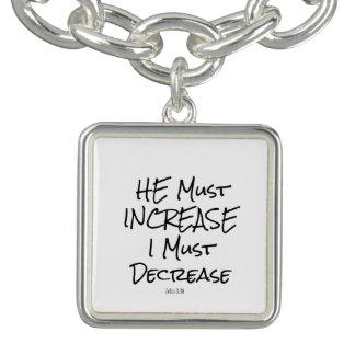 He Must Increase, I must Decrease Bible Verse