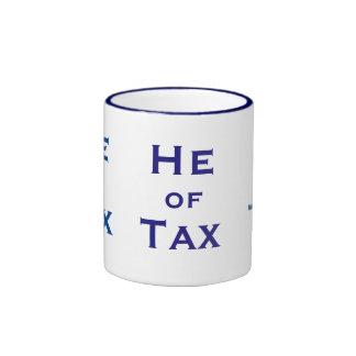 He of Tax Male Tax Accountant Man Tax Preparer Ringer Mug