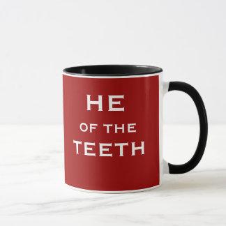 He of the Teeth Funny Dentist Joke Name and Title Mug