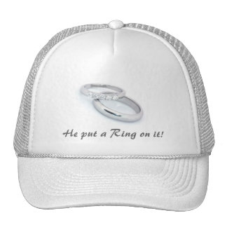 He Put a Ring on It! Cap