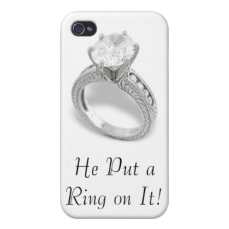 He Put A Ring On It/Save the Date iPhone 4/4S Case