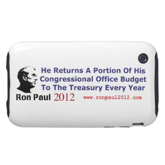 He Returns The Budget Money He Doesn't Use Tough iPhone 3 Case