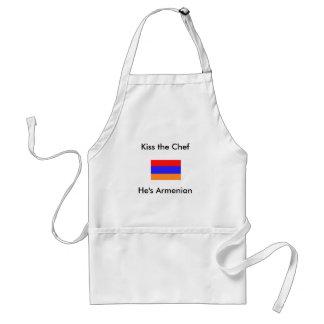 He s Armenian Kiss the Chef Aprons