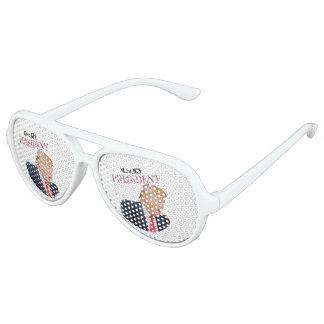He's My President Donald J. Trump Aviator Sunglasses