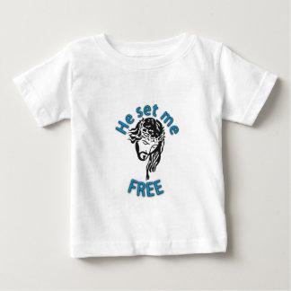 He Set Me Free Baby T-Shirt