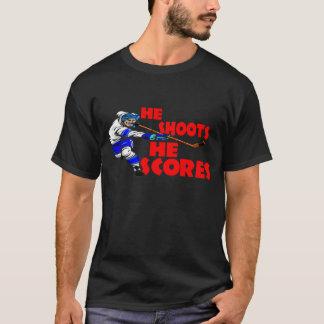 He Shoots He Scores T-Shirt