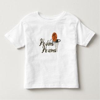 He Shoots...He Scores Toddler T-Shirt