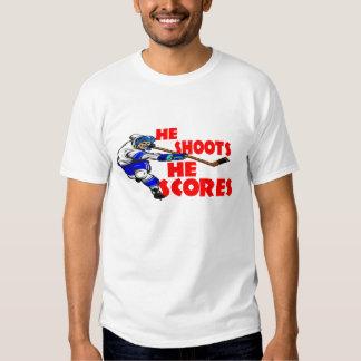 He Shoots He Scores Tshirt