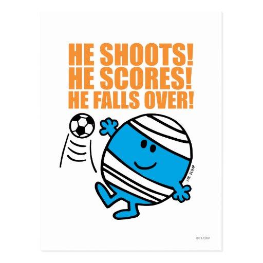 He Shoots! Post Card