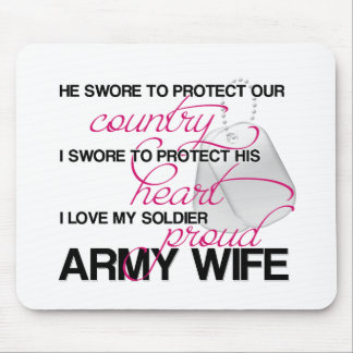 He Swore to Protect Our Country Mouse Pad