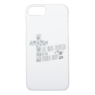 He Was Raised On The Third Day Christian Easter iPhone 8/7 Case