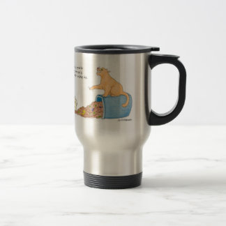 He who is good for making excuses... travel mug