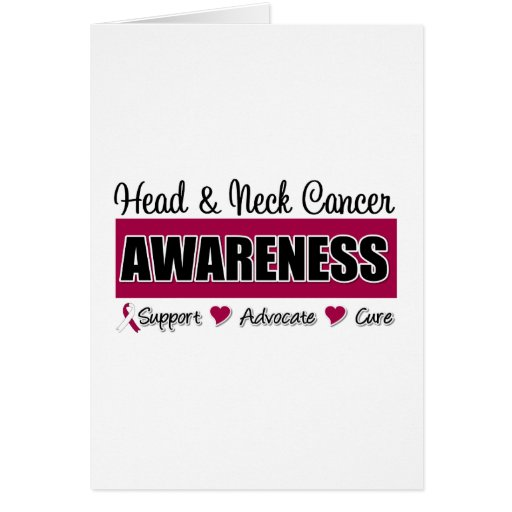Head and Neck Cancer Awareness Card