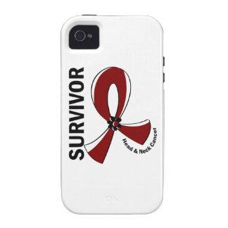Head and Neck Cancer Survivor 12 iPhone 4/4S Case