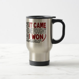 Head and Neck Cancer Survivor It Came We Fought Mug