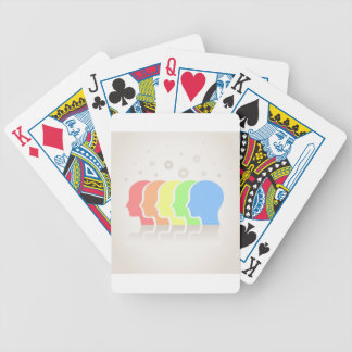 Head Bicycle Playing Cards