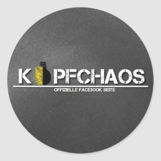 HEAD CHAOS sticker