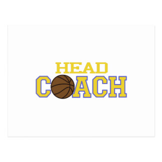 Head Coach Postcard