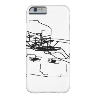 Head Drawing iPhone 6/6s Case