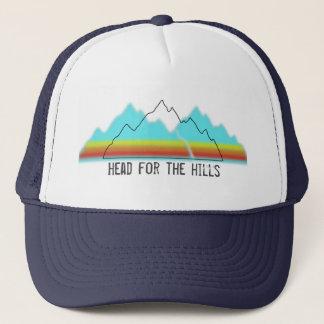 Head for the Hills trucker Trucker Hat