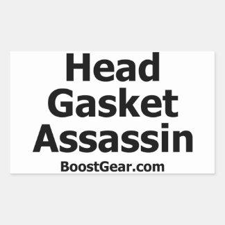 Head Gasket Assassin Sticker by BoostGear.com